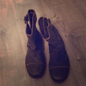 UGG brown distressed boots